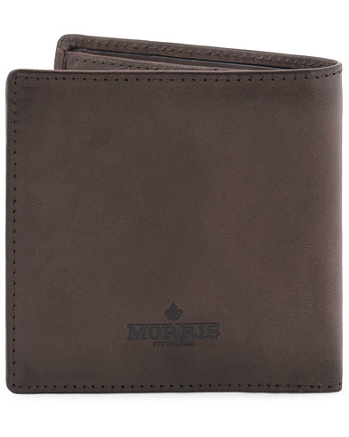 Morris Leather Wallet Dark Brown  i gruppen Assesoarer / Lommebøker / Vanlige lommebøker hos Care of Carl (13246310)