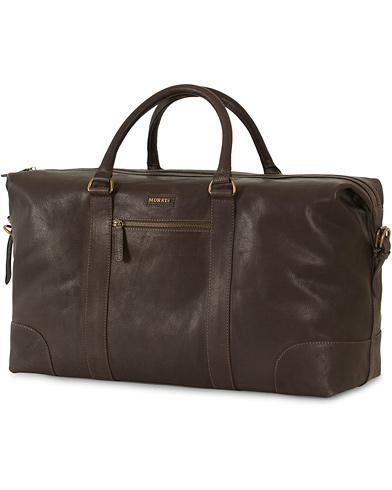 Morris Leather Weekendbag Dark Brown  i gruppen Accessoarer / Väskor / Weekendbags hos Care of Carl (13246610)