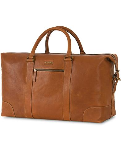 Morris Leather Weekendbag Cognac  i gruppen Väskor / Weekendbags hos Care of Carl (13246710)