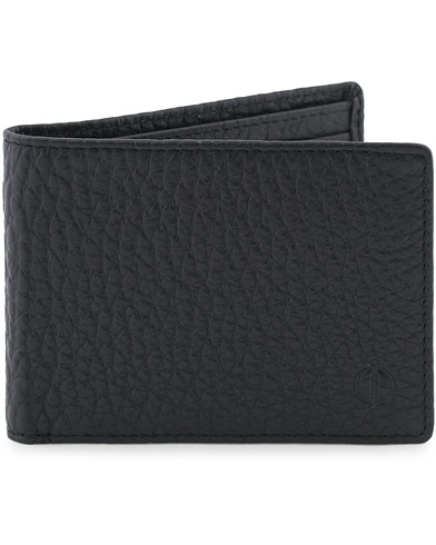 Oscar Jacobson Grained Leather Card Wallet Black  i gruppen Accessoarer / Plånböcker hos Care of Carl (13247010)