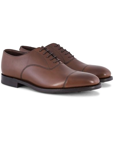 Loake 1880 MTO Aldwych Oxford Single Danite Brown Calf i gruppen Sko / Oxfords hos Care of Carl (13248511r)
