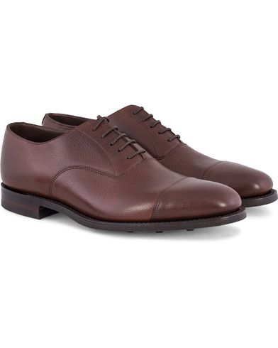 Loake 1880 MTO Aldwych Oxford Single Danite Brown Grain Calf i gruppen Sko / Oxfords hos Care of Carl (13248611r)