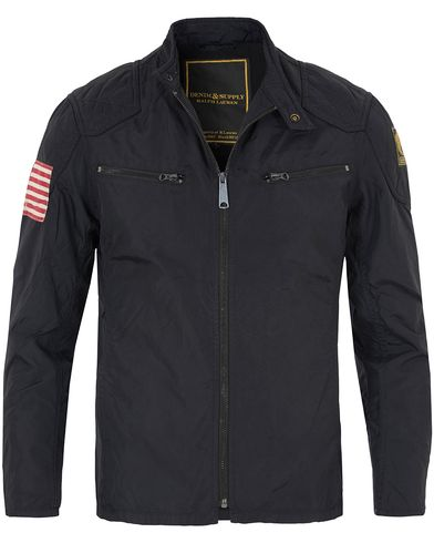 Denim & Supply Ralph Lauren Motorcycle Jacket Polo Black i gruppen Kläder / Jackor / Tunna jackor hos Care of Carl (13249411r)