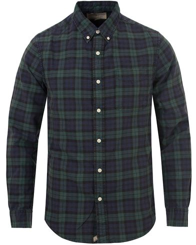 Denim & Supply Ralph Lauren Blackwatch Oxford Shirt Hatfield Green i gruppen Kläder / Skjortor / Oxfordskjortor hos Care of Carl (13250311r)