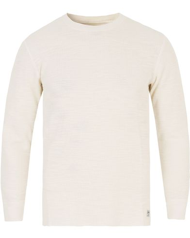 Denim & Supply Ralph Lauren Thermal Long Sleeve Antique Cream i gruppen T-Shirts / Langermede t-shirts hos Care of Carl (13251111r)