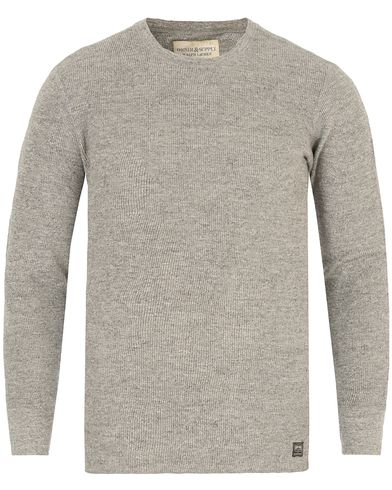 Denim & Supply Ralph Lauren Thermal Long Sleeve Antique Heather i gruppen Kläder / T-Shirts / Långärmade t-shirts hos Care of Carl (13251211r)
