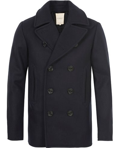 Denim & Supply Ralph Lauren Wool Peacoat Navy i gruppen Jakker / Skipperjakker hos Care of Carl (13251411r)