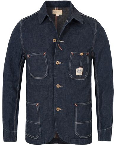 Denim & Supply Ralph Lauren Selvage Jacket Dark Denim i gruppen Jackor / Tunna jackor hos Care of Carl (13251511r)