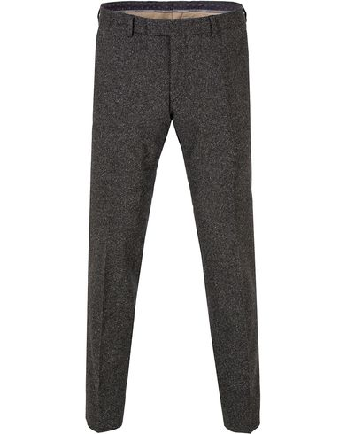Oscar Jacobson Damien Lambswool Trousers Dark Grey i gruppen Byxor / Kostymbyxor hos Care of Carl (13255411r)
