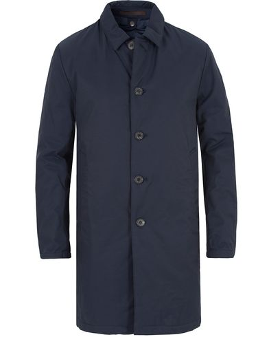 Oscar Jacobson Duster Water Repellent Carcoat Navy i gruppen Jakker / Frakker hos Care of Carl (13256611r)