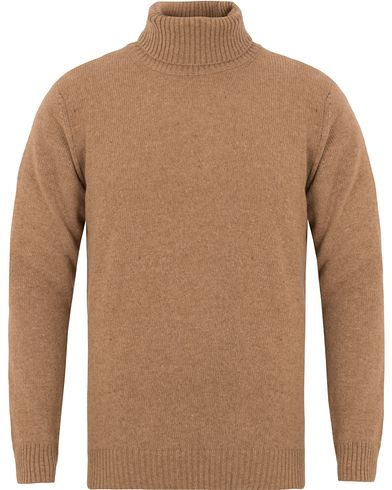 Oscar Jacobson Kristopher Polo Camel Brown i gruppen Tröjor / Polotröjor hos Care of Carl (13260711r)