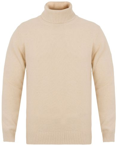 Oscar Jacobson Kristopher Polo Off White i gruppen Gensere / Pologensere hos Care of Carl (13260811r)