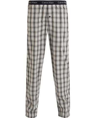 Calvin Klein Woven Sleepwear Pyjama Pants Crosby Plaid/Black i gruppen Undert�y / Pyjamaser hos Care of Carl (13263011r)