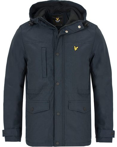 Lyle & Scott Micro Fleece Lined Jacket Navy i gruppen Klær / Jakker / Tynne jakker hos Care of Carl (13264511r)