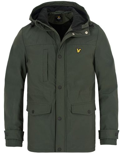 Lyle & Scott Micro Fleece Lined Jacket Dark Sage i gruppen Jackor / Tunna jackor hos Care of Carl (13264611r)
