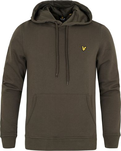 Lyle & Scott Pullover Hoodie Dark Sage i gruppen Tröjor / Huvtröjor hos Care of Carl (13266711r)