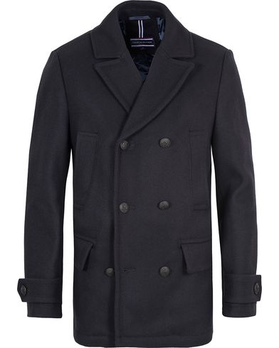 Tommy Hilfiger Classic Peacoat Dark Navy i gruppen Jakker / Skipperjakker hos Care of Carl (13273411r)