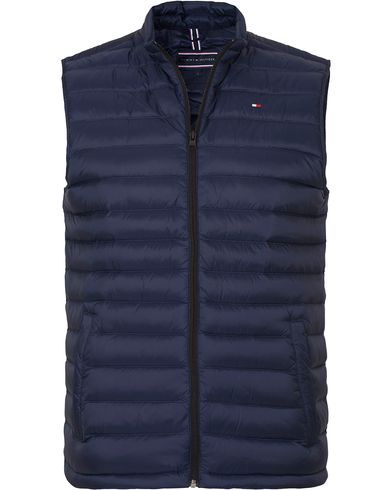 Tommy Hilfiger Light Weight Packable Down Vest Navy Blazer i gruppen Jackor / Yttervästar hos Care of Carl (13273611r)