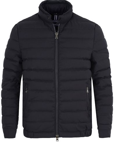 Tommy Hilfiger Wool Flannel Bomber Jacket Midnight i gruppen Kläder / Jackor / Vadderade jackor hos Care of Carl (13274311r)