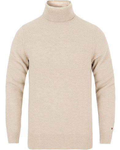 Tommy Hilfiger Ronald Rollneck Birch i gruppen Design A / Gensere / Pologensere hos Care of Carl (13275311r)