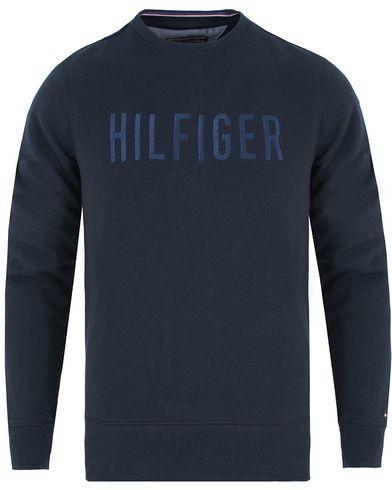 Tommy Hilfiger Nylan C-Neck Sweatshirt Navy Blazer i gruppen Kläder / Tröjor / Sweatshirts hos Care of Carl (13277511r)