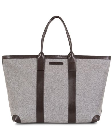 Tommy Hilfiger Icon Tote Felt Bag Filler Grey  i gruppen Vesker / Totebags hos Care of Carl (13280510)