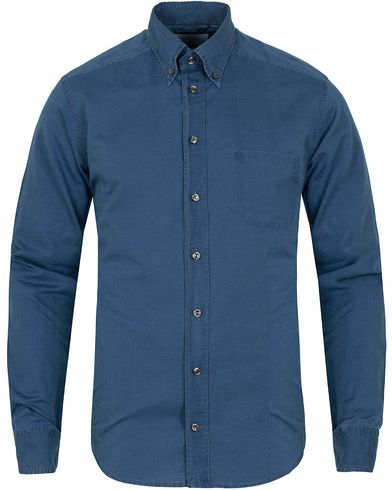 Eton Slim Fit Green Ribbon Shoreditch Indigo Shirt Blue i gruppen Skjorter / Casual skjorter hos Care of Carl (13281511r)
