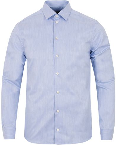 Eton Slim Fit Twill Cut Away Shirt Light Blue i gruppen Klær / Skjorter / Formelle skjorter hos Care of Carl (13282511r)