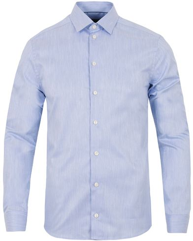 Eton Super Slim Fit Twill Cut Away Shirt Light Blue i gruppen Klær / Skjorter / Formelle skjorter hos Care of Carl (13282611r)