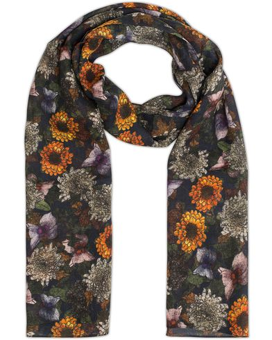 Eton Wool Sunflower Scarf Multi  i gruppen Assesoarer / Scarves hos Care of Carl (13284810)