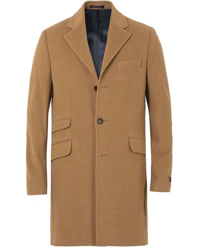 Morris William Wool Coat Camel i gruppen Jakker / Frakker hos Care of Carl (13290511r)