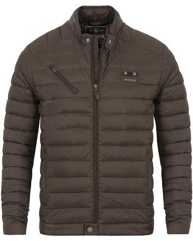 Morris McLaren Jacket Olive i gruppen Kläder / Jackor / Quiltade jackor hos Care of Carl (13291711r)