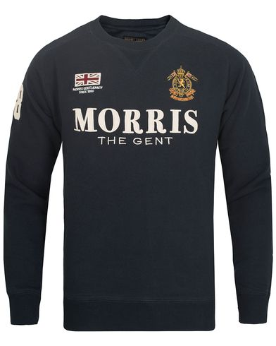 Morris Gent Sweatshirt Old Blue i gruppen Gensere / Sweatshirts hos Care of Carl (13292811r)