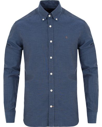 Morris Douglas Leisure Shirt Dark Blue i gruppen Klær / Skjorter / Casual skjorter hos Care of Carl (13293211r)