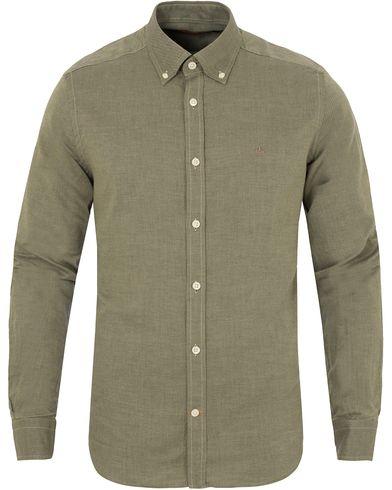 Morris Douglas Leaisure Shirt Olive i gruppen Skjorter / Casual skjorter hos Care of Carl (13293311r)
