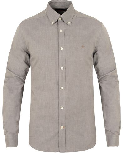 Morris Douglas Leaisure Shirt Light Grey i gruppen Skjorter / Casual skjorter hos Care of Carl (13293511r)