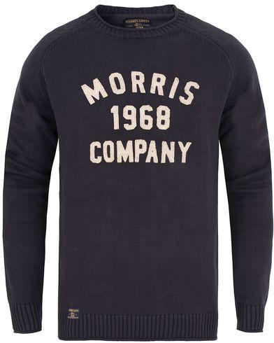 Morris Cooper Oneck Old Blue i gruppen Gensere / Strikkede gensere hos Care of Carl (13296211r)