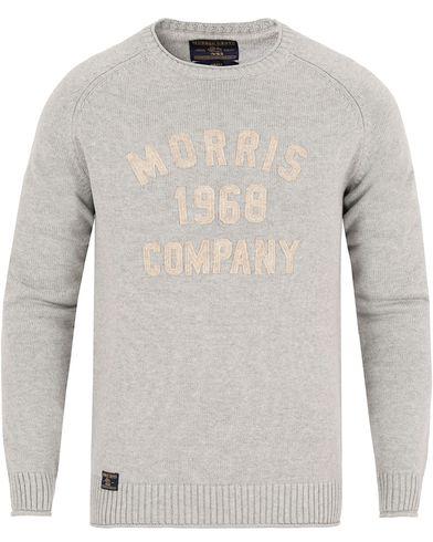 Morris Cooper Oneck Grey i gruppen Klær / Gensere / Strikkede gensere hos Care of Carl (13296311r)