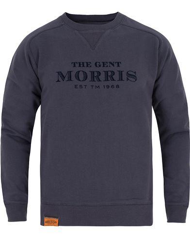 Morris Nichols Sweatshirt Blue i gruppen Gensere / Sweatshirts hos Care of Carl (13296611r)