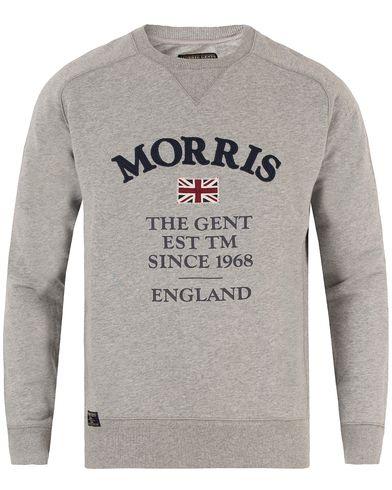 Morris William Sweatshirt Grey i gruppen Gensere / Sweatshirts hos Care of Carl (13297211r)