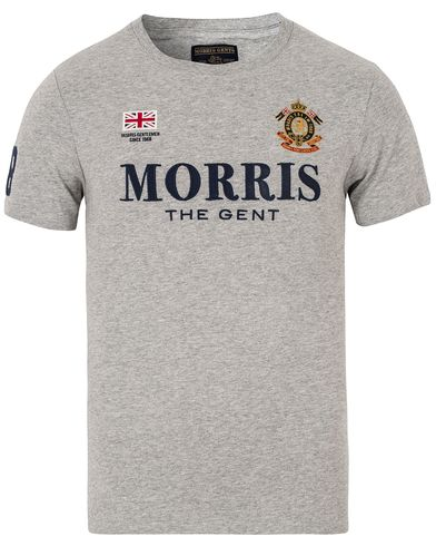 Morris Gent Tee Grey i gruppen T-Shirts / Kortärmade t-shirts hos Care of Carl (13297711r)