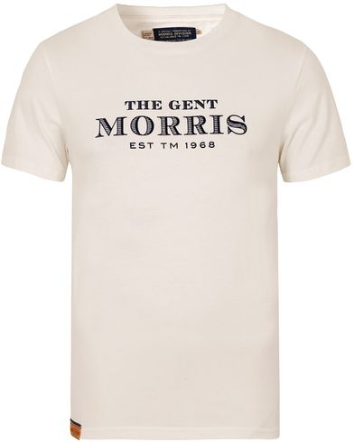 Morris Nichols Tee Off White i gruppen T-Shirts / Kortermede t-shirts hos Care of Carl (13297811r)