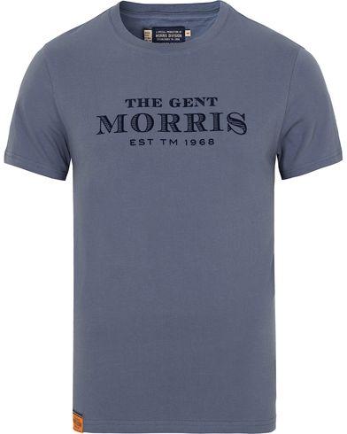 Morris Nichols Tee Blue i gruppen T-Shirts / Kortermet T-shirt hos Care of Carl (13297911r)