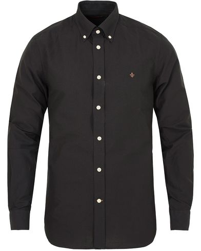 Morris Douglas Oxford Shirt Black i gruppen Kläder / Skjortor / Oxfordskjortor hos Care of Carl (13298611r)