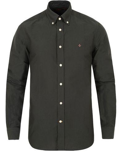 Morris Douglas Oxford Shirt Olive Green i gruppen Kläder / Skjortor / Oxfordskjortor hos Care of Carl (13298811r)