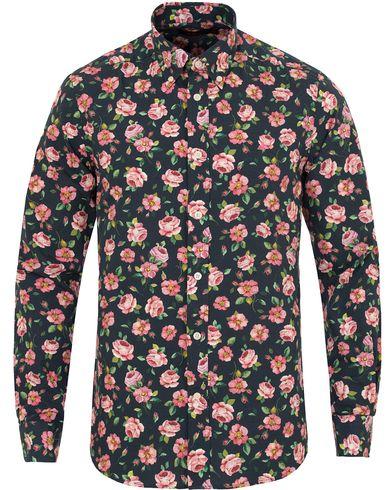 Morris Douglas Printed Flower Shirt Light Pink/Navy i gruppen Skjorter / Casual skjorter hos Care of Carl (13299211r)