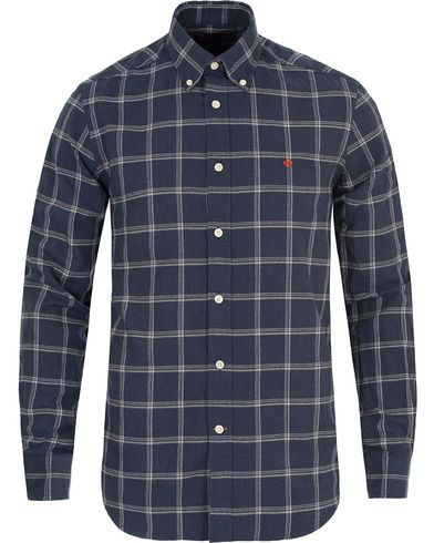 Morris Douglas Check Shirt Blue i gruppen Skjortor / Casual Skjortor hos Care of Carl (13299611r)