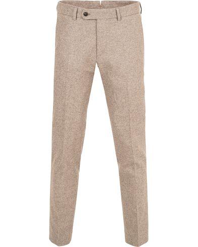 Morris Rodney Wool Trousers Camel i gruppen Design A / Bukser / Flanellbukser hos Care of Carl (13299811r)