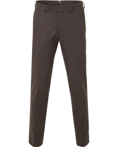 Morris Rodney Wool Trousers Brown i gruppen Bukser / Flanellbukser hos Care of Carl (13299911r)