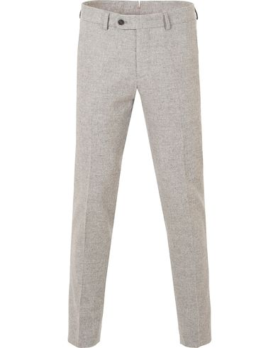 Morris Rodney Wool Trousers Light Grey i gruppen Byxor / Flanellbyxor hos Care of Carl (13300011r)